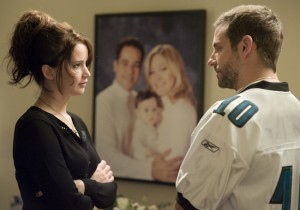 Jennifer Lawrence and Bradley Cooper star in Silver Linings Playbook (The Weinstein Company)